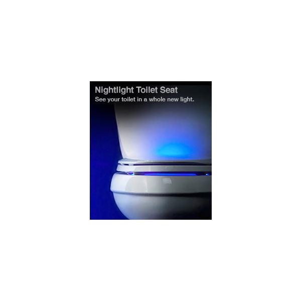 Purefresh™ elongated toilet seat w Night Light