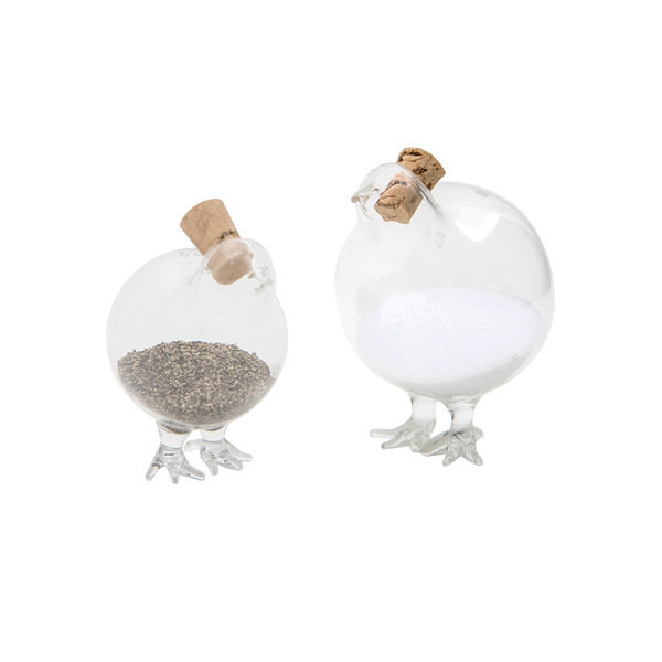 CHICKS SALT & PEPPER SHAKERS
