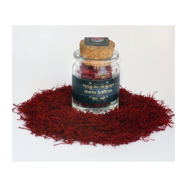Mehr Saffron, Premium All Red Saffron / 1/9 Oz (3 Gram)