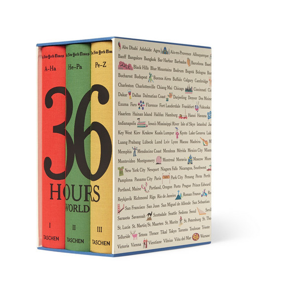 New York Times 36 Hours World Book Set